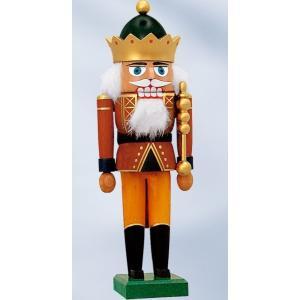 くるみ割り人形 王冠をかぶった王様  (28cm)|volksmarkt