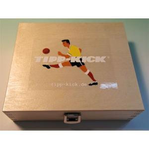 サッカーゲーム   ティップキック 木製収納ボックス|volksmarkt