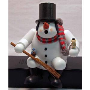 煙だし人形 雪だるま (お香台)|volksmarkt