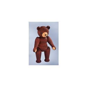 ドイツ製 木製テディベア人形 ブラウン色 (14cm) KWO社|volksmarkt