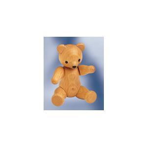 木製 テディー・ベア人形 ナチュラル (7.5cm)|volksmarkt
