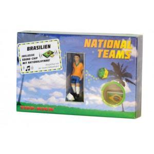 サッカーゲーム   ティップキック用キッカー 「ブラジル代表」 エディション サウンドチップ付き|volksmarkt