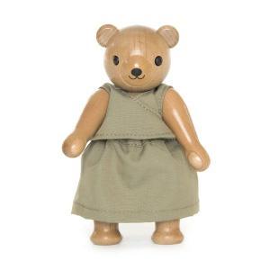 ドイツ製 木製テディベア人形用 衣装 (14cmのテディ用) KWO社|volksmarkt