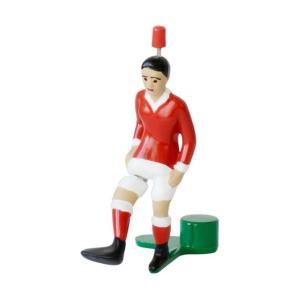 ティップキック用 スターキッカー(赤色) サッカーゲーム テーブルゲーム ドイツのおもちゃ|volksmarkt