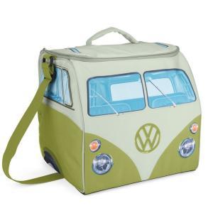 VW デザイン 折り畳み式 大きなソフトクーラーバッグ Volkswagen Large Soft Cooler Bag (グリーン&ホワイト) volksmarkt