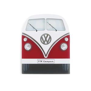 イタリア製 アイススクレーパー(霜取り)VW Type2 (レッド&ホワイト)デザイン仕様 volksmarkt