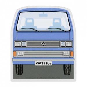 イタリア製 アイススクレーパー(霜取り)VW T25 (ブルー)デザイン仕様 volksmarkt