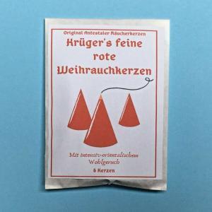 ドイツ クリューガーさんのお香 「赤いお香」 ドイツ製|volksmarkt