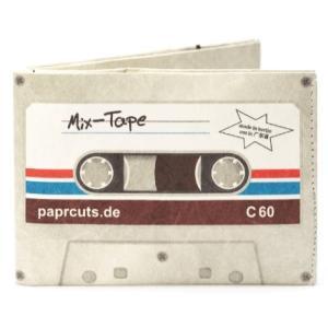 ドイツ ペーパーカッツ社製 折りたたみ式財布 Mix Tape (カセットテープ)|volksmarkt