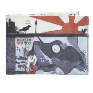 ドイツ ペーパーカッツ社製 折りたたみ式財布 Berlin loves you (ベルリンより愛をこめて)|volksmarkt