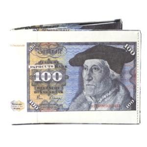 ドイツ ペーパーカッツ社製 折りたたみ式財布 100 MarK (100マルク 札)|volksmarkt