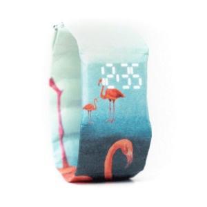 [アウトレット]ドイツ ペーパーカッツ社製 デジタル時計 Flamingo (フラミンゴ)|volksmarkt