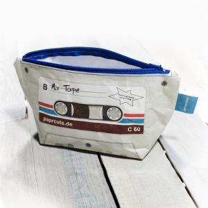 ドイツ ペーパーカッツ社製 化粧ポーチ Mix Tape (カセットテープ)|volksmarkt