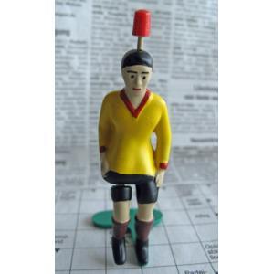 ティップキック レトロセット(85周年記念セット)用 キッカー (黄色) サッカーゲーム テーブルゲーム ドイツのおもちゃ |volksmarkt