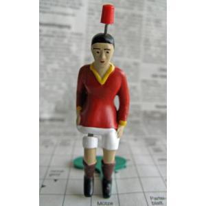 ティップキック レトロセット(85周年記念セット)用 キッカー(赤色)サッカーゲーム テーブルゲーム ドイツのおもちゃ|volksmarkt