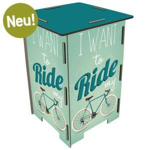 ヴェルクハウス 木製 スツール  【Fahrrad 自転車】|volksmarkt
