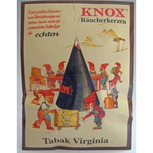 ドイツ KNOX製 お香 「バージニア・タバコの香り」 KWOの煙だし人形に最適 ドイツ製|volksmarkt