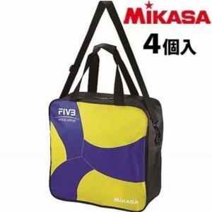 【2020年新作】ミカサ(MIKASA) ボールバッグ バレーボール4個入バッグ 2020NEW [...