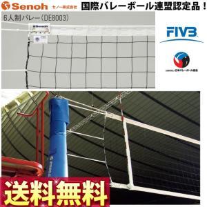 セノー(Senoh) バレーボール 6人制ネット DE8003|volleyballassist