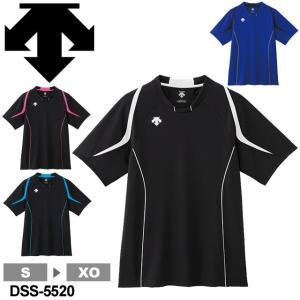 デサント(DESCENTE) 半袖 プラクティスシャツ DSS-5520 volleyballassist