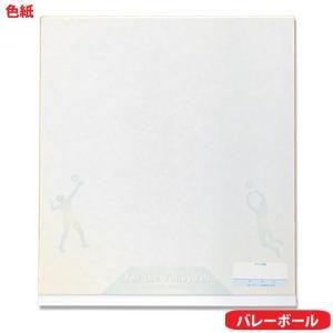 fd13-13 バレーボール-1 ユニックス サイン色紙|volleyballassist