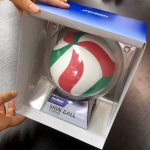 モルテン バレーボール カラーサインボールの詳細画像2