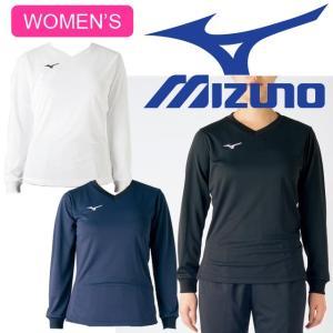 バレーボールウェア ミズノ mizuno 長袖 プラクティスシャツ レディース V2MA7294 volleyballassist