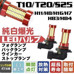 送料無料-「LED ハイパワーシリーズ登場」360°全面発光 LEDフォグランプ H11 H8 H7 HB3 HB4 H16 T20 S25 兼用型106チップ T10/T15/T16兼用型45チップ|vourvoir2