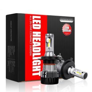 送料無料 LEDヘッドライト H4 Hi/Lo/H11/H8/H16/HB3/HB4 30W DC932V 5000LM CREE社製LEDチップ IP65 6500K MINIファン付き 高輝度 車検対応 簡単取付 DDM|vourvoir2