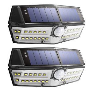 送料無料- センサーライト 30LED 人感センサーライト ガーデンライト  IPX6防水  広角照明 検知距離8メートル センサー時間30s  2点セットDDM|vourvoir2