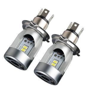 送料無料 2018年最新版 ボールファン付き H4車用LED ヘッドライト12V専用 LED バルブH4 HB2 9003 Hi/Lo 一体型 人気 車検対応 50W 5600LM 2本セット DDM vourvoir2