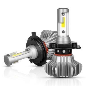 送料無料最新コンパクトモデル H4 LEDヘッドライト 12V24V兼用 hi/lo 切り替え 40W 6500k 8000LM 車検対応 ファンレス  一体型 2本セット 1年保証  DDM|vourvoir2