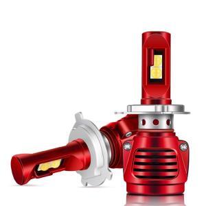 送料無料led ヘッドライト hi/lo 切り替え 車検対応 一体型  チップ ファン付き 2本セット DDM|vourvoir2