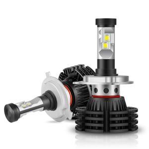 送料無料LEDヘッドライトバルブ 9V32V兼用 hi/lo 切り替え 40W 7200LM 6000K ファンレス CREE社製チップ LED角度調整可 車検対応 一体型 2本セット DDM vourvoir2