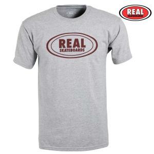 Tシャツ REAL OVAL T-Shirt 半袖 トップス REAL リアル  スケボー スケート...