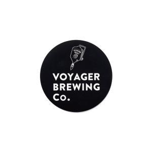 オリジナル ステッカー サークル 円型  ボイジャーブルーイング 和歌山県田辺市クラフトビールメーカー|voyagerbrewing