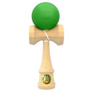 けん玉 日本けん玉協会認定 競技用けん玉 山形工房 大空 緑色 グリーン|vsbigfield