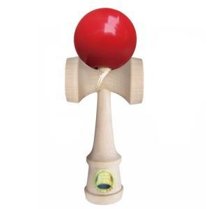 けん玉 日本けん玉協会認定 競技用けん玉 カシマヤ けん玉名人極 赤色 レッド|vsbigfield