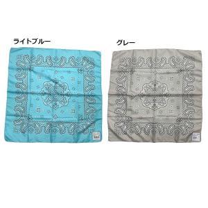 バンダナ ペイズリー 柄 三角巾 201211573の詳細画像2