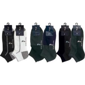 靴下 メンズ WESTERN POLO スニーカーソックス 転写 25〜27cm 12足セット TR|vsdaily|02
