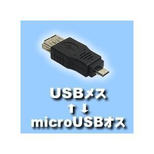 microUSB(オス)-USB(メス)変換アダプタ 送料216円・ポスト投函 (商品番号2142-1504) vshopu-2