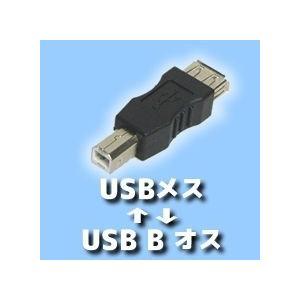 USB(メス)-USB B(オス)変換アダプタ 送料220円・ポスト投函 (商品番号214X-2501)|vshopu-2