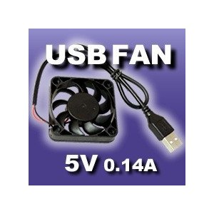 USBFAN 5cm DCファン DC5V/0.14A 送料216円・ポスト投函 (商品番号2168-2001)|vshopu-2