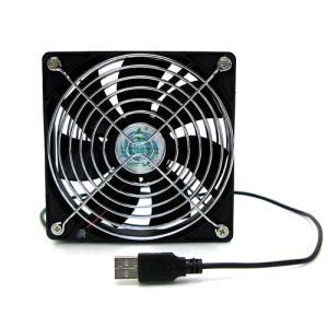 USB12cmファン BIGFAN 120U for Men  USBファン USB扇風機 サーキュレーター 電子工作|vshopu