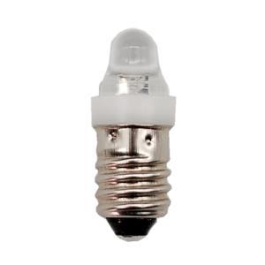 LED豆電球 1.5V 白色 口金サイズE10|vshopu