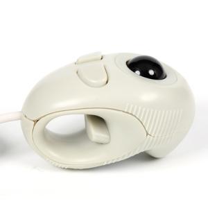 光学式トラックボールマウス GM-OPTB02W ホワイト|vshopu