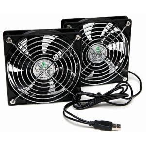BIG-FAN USBファンのステレオタイプ BIGFAN120U-STEREO  USBファン USB扇風機 サーキュレーター 電子工作|vshopu