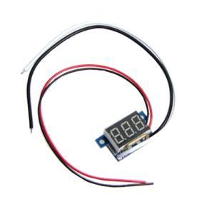 デジタル電流計モジュール DC10A (ミニ・赤) 電子工作|vshopu