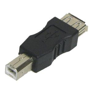 USB(メス)-USB B(オス)変換アダプタ|vshopu