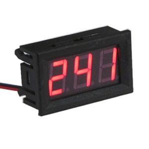 交流デジタル電圧計 (AC75V-300V) 赤|vshopu